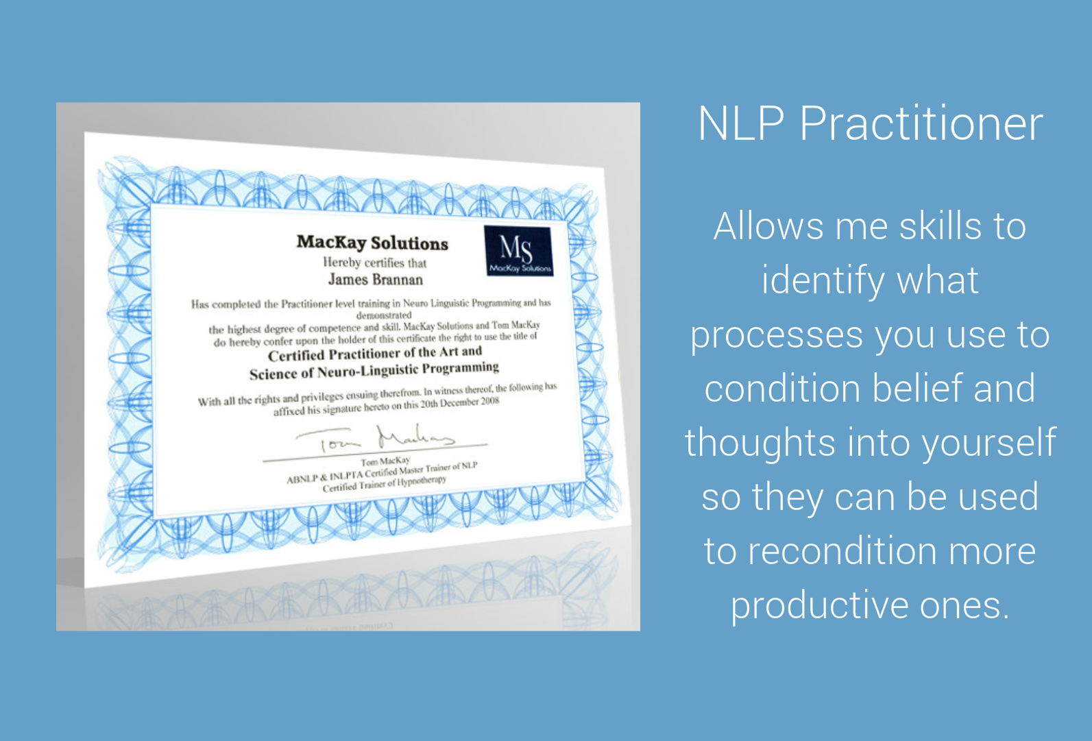 Practitioner of NLP