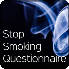 stop smoking questionnaire button